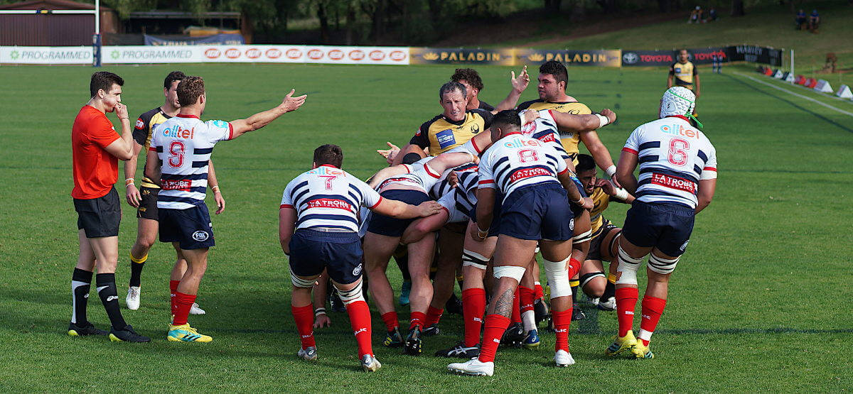 Scrum troubles NRC 2019 Force v Rising (Credit Delphy)