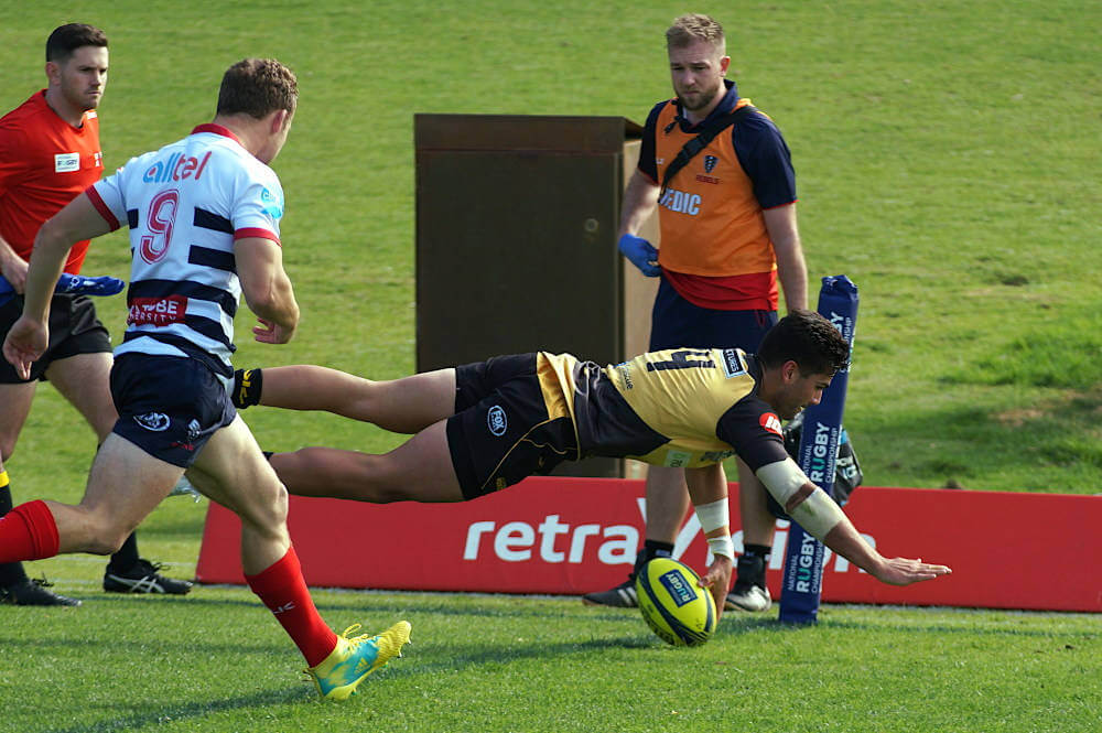 Try time for the Force NRC 2019 Force v Rising (Credit Delphy)
