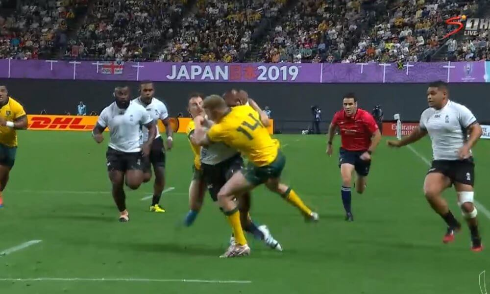 Australia winger Hodge banned for three matches for unsafe  tackle