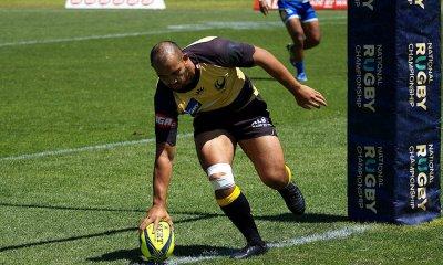 Jonah Placid scores Western Force v Brisbane City NRC 2019 (Credit Delphy)