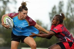 Lori Cramer UQ v Griffith Womens 7s Crédit photo RugbyAU MediaKaren Watson
