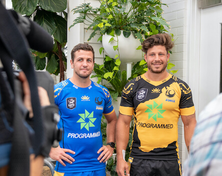 Western Force reveal their jerseys for Global Rapid Rugby.