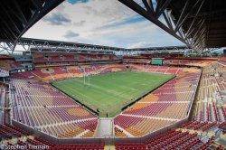 Suncorp Stadium stock photo