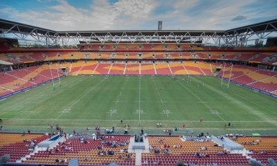 Suncorp Stadium stock photo