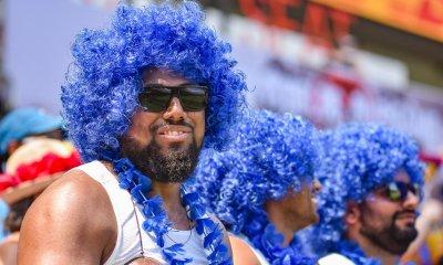Fiji fans