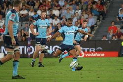 Kurtley Beale missed a couple of kickable penalties.