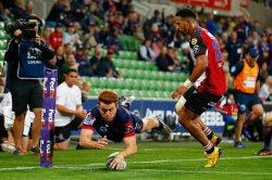 Kellaway Try Rebels Lions