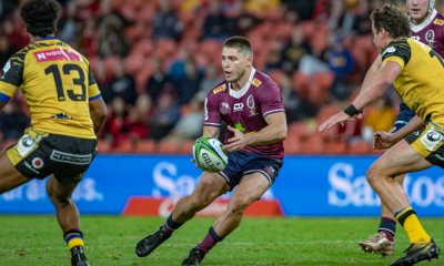 James O'Connor QLD Reds v Western Force (Photo Credit QRU Brendan Hertel)