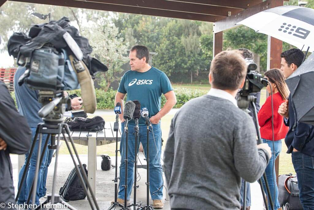 Wallabies Coach Dave Rennie will be making his home in Queensland