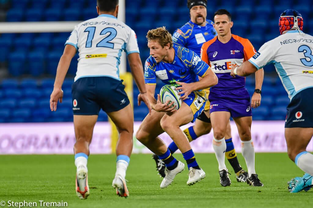 Kyle Godwin runs the ball