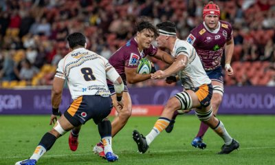 Jordy Petaia 1 Brumbies v Reds Super Rugby 2020 (Photo Credit QRUBrendan Hertel)