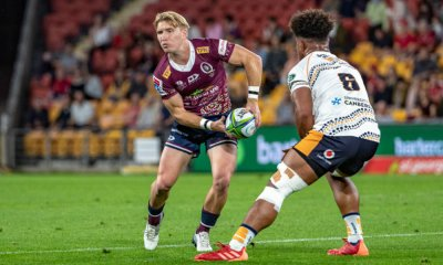 Tate Mcdermott Brumbies v Reds Super Rugby 2020 (Photo Credit QRUBrendan Hertel)
