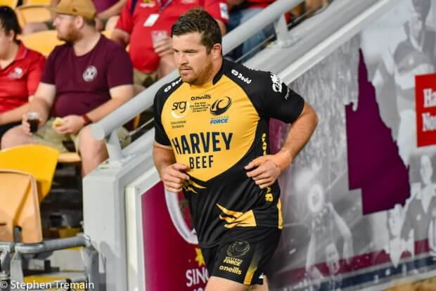 Greg Holmes 150th Super Rugby game