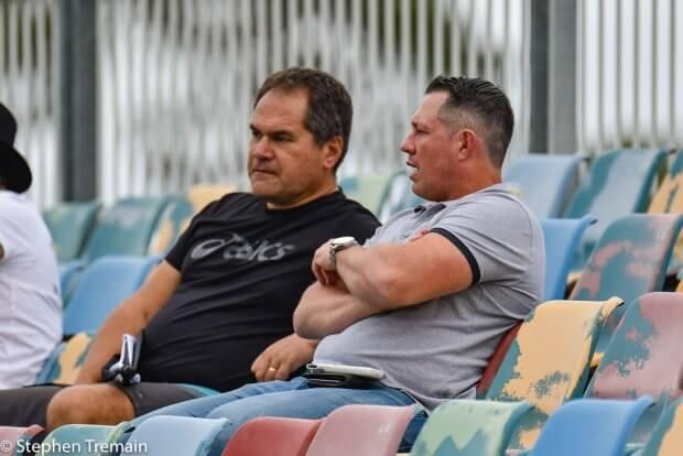 Dave Rennie and Matt Taylor